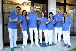 Team studio Chiamenti lista terapia laser della parodontite